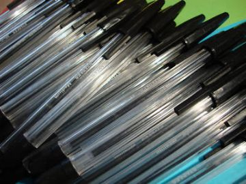 2,000 x BLACK BALLPOINT PENS - BULK CLEARANCE JOB LOT